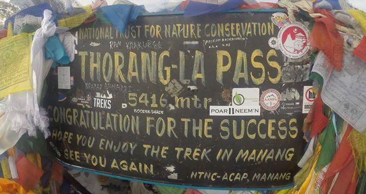 De hoogste Poar Neem'n sticker! Nepal op 5614 meter, door Coen Herwegh!