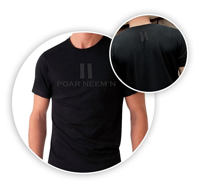 Shirt - Black-on-Black - keerl - XXL