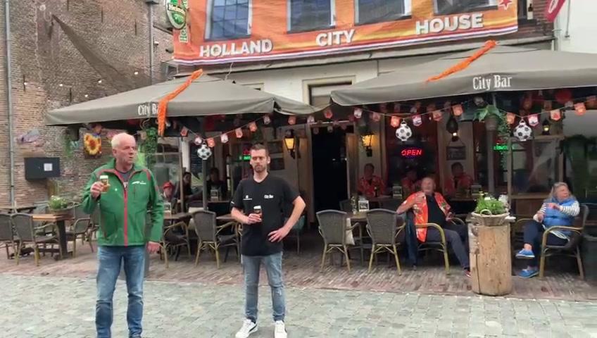 Onze moaten van de de City Bar (Elburg) zijn er weer helemaal klaar voor.